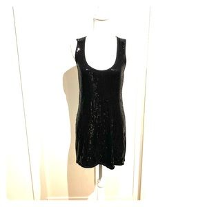 NWT Vintage Bebe sequined knit dress